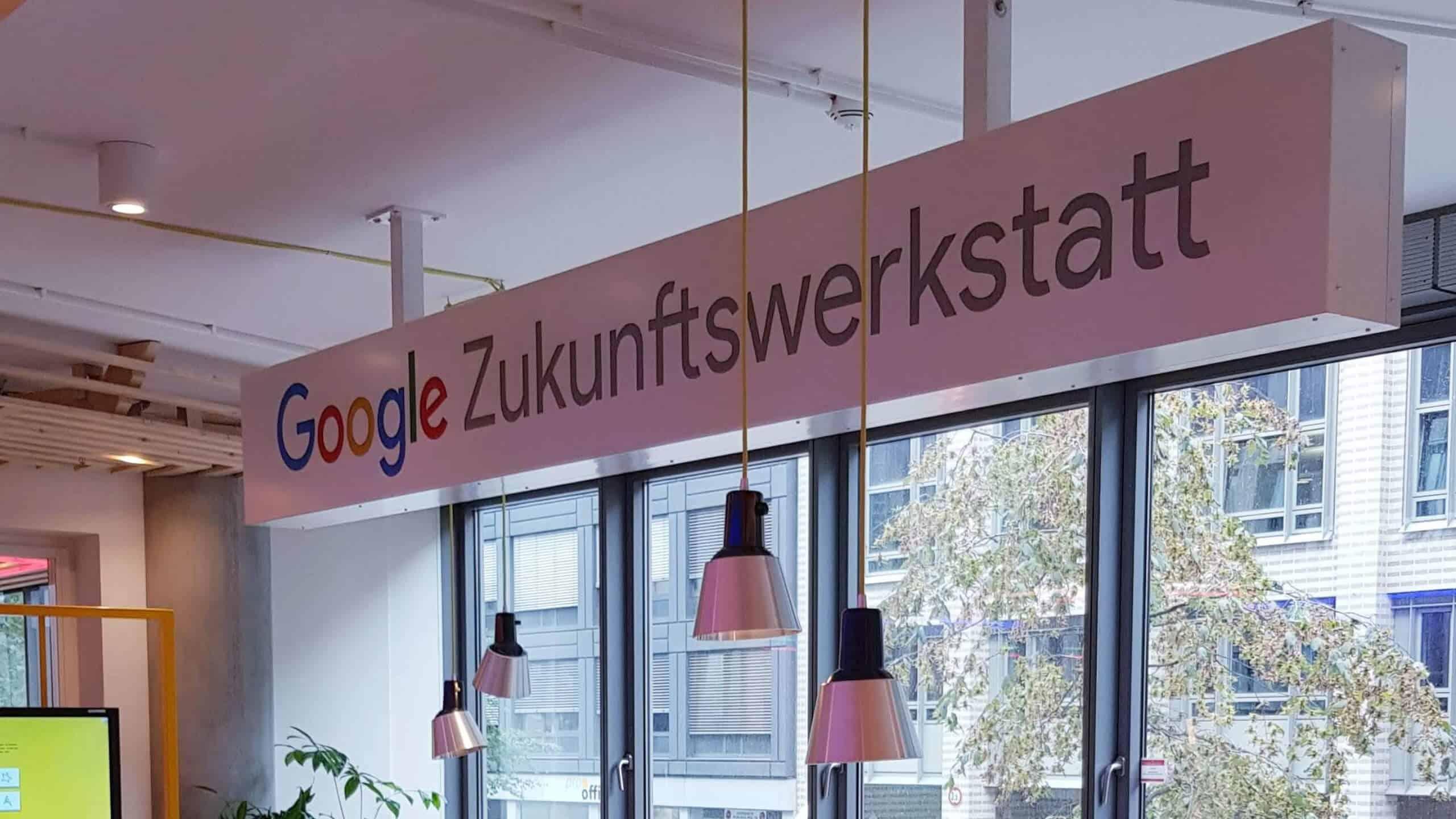 Google Zukunftswerkstatt Hamburg